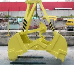 Double-jaw single rope grabber (double-jaw bucket)
