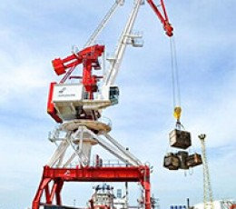 Spare parts for portal crane Kondor