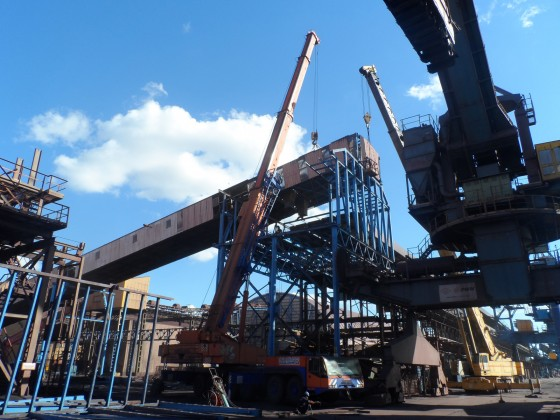 Реконструкция конвейерных линий для ТИС-Минудобрения, порт Южный
