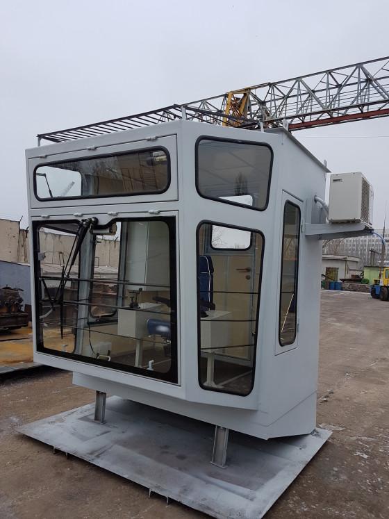 Изготовление и поставка кабины управления для проекта по модернизации портального крана Альбатрос, Бердянский МТП