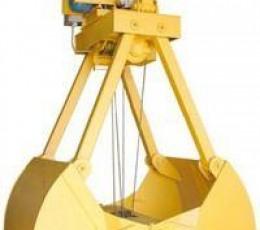 Грейфер четырехканатный моторный